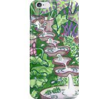 Flowform edible station garden iPhone Case/Skin