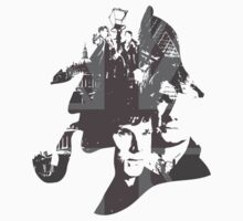 Sherlock Vector Collage Revamp by Dope Prints