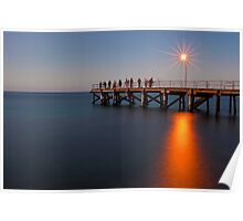 Second Valley Jetty, South Australia Poster