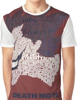 Death Note - Ryuk - Typography  Graphic T-Shirt