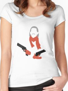 Revolver Ocelot Women's Fitted Scoop T-Shirt