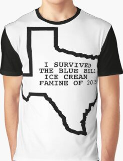 Blue Bell Ice Cream Famine BlueBell Ben and Jerrys Texas Shirt Graphic T-Shirt