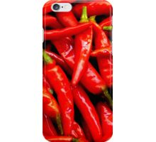 red hot chillies iPhone Case/Skin
