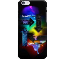 Make Up Your Mind iPhone Case/Skin
