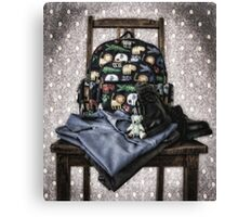 Off to school blues.... Canvas Print