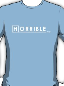 DR. HORRIBLE, PH.D T-Shirt