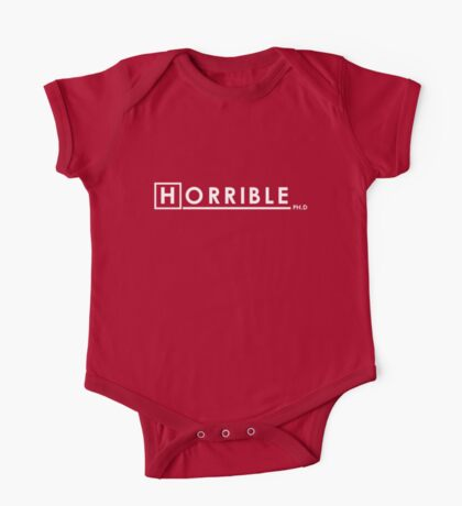 DR. HORRIBLE, PH.D One Piece - Short Sleeve