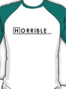 DR. HORRIBLE, PHD. T-Shirt