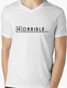 DR. HORRIBLE, PHD. Mens V-Neck T-Shirt