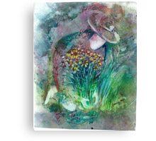 """The Gardener"" Canvas Print"