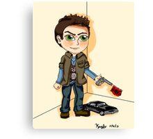 Supernatural : Dean Winchester Chibi Canvas Print