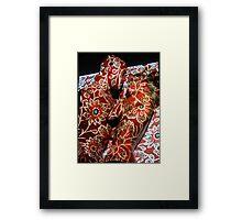 Projection Klimt Framed Print