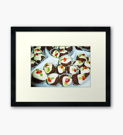 Mini Puds Framed Print