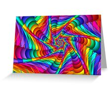 Web of Color Greeting Card