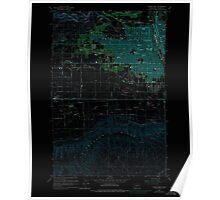 USGS Topo Map Washington State WA Yakima West 244820 1958 24000 Inverted Poster