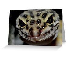 Leopard Gecko Smiling  Greeting Card