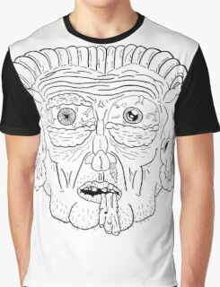 Troll Caricature Graphic T-Shirt