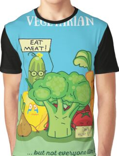 Angry vegetables Graphic T-Shirt