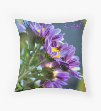 Happy Valentine's Day With Love Throw Pillow