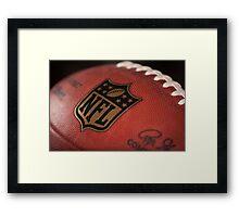 NFL Football Framed Print