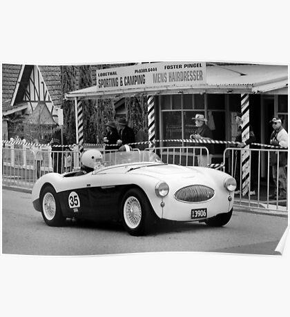 Austin Healey 100S 1955 Poster
