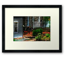 A Seat In The Shade Framed Print
