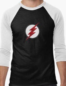 Black Flash Men's Baseball ¾ T-Shirt