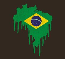 Brazil Paint Drip Unisex T-Shirt