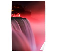 Pink Niagara Falls  Poster