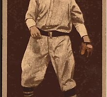 Benjamin K Edwards Collection Lawrence Doyle New York Giants baseball card portrait 001 by wetdryvac