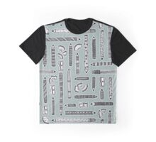Tools of the Trade Pattern Graphic T-Shirt