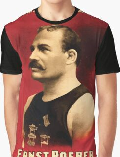 Poster 1890s Roeber and Crane Bros Vaudeville Athletic Co Ernst Roeber champion of the world wrestling poster 1898 Graphic T-Shirt