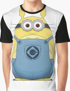 Minion Totoro Graphic T-Shirt