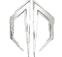 Destroid Dubstep White Logo by FeatherLigure