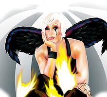 Burning Angel by Brian Gibbs