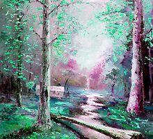 Memory of Woodland Creek by Giro Tavitian