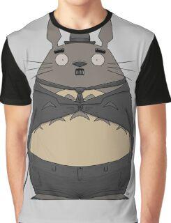 Charlie Chaplin Totoro Graphic T-Shirt