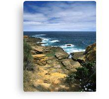 """Where Land Meets Sea"" ∞ Bermagui, NSW - Australia Canvas Print"