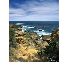 """Where Land Meets Sea"" ∞ Bermagui, NSW - Australia Photographic Print"