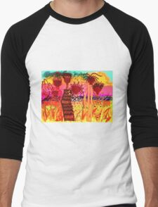 Hawaiian Sisters T-Shirt Men's Baseball ¾ T-Shirt