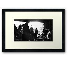 Icecream Stand Framed Print