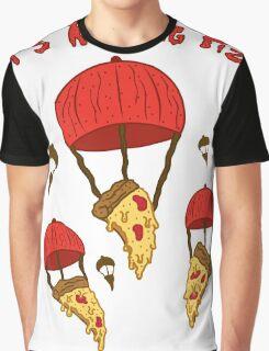 It's Raining Pizza  Graphic T-Shirt