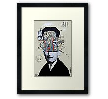 deconstructing george orwell Framed Print