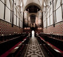 Rochester Cathedral by Elizabeth Tunstall