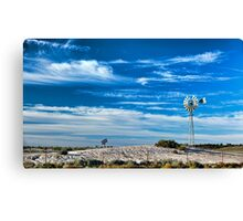 Mungo Morning - Mungo NP, NSW Canvas Print
