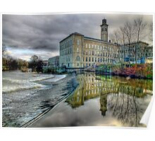 Salts Mill - HDR Poster
