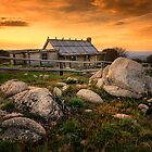Craig&#x27;s Hut - Mt Stirling by Hans Kawitzki