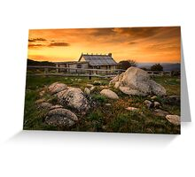 Craig's Hut - Mt Stirling Greeting Card