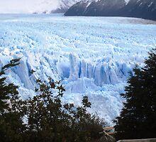 Glacier 2, Argentina by Sue Ballyn