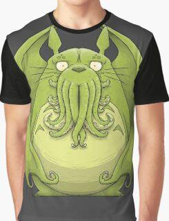 Totoro Cthulhu Graphic T-Shirt